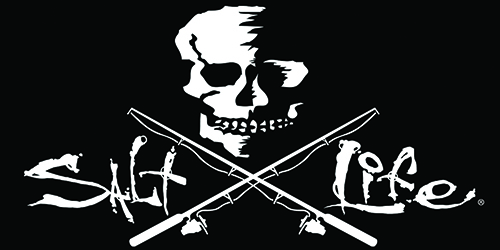 Salt Life Skull and Poles Decal