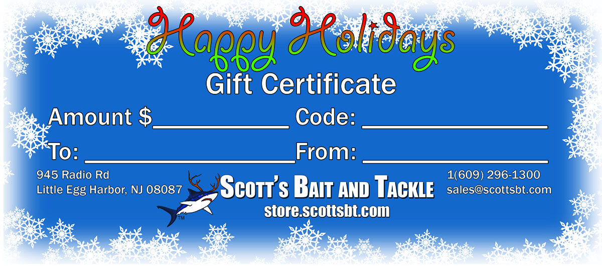Gift Certificate - Retail Store Use ONLY