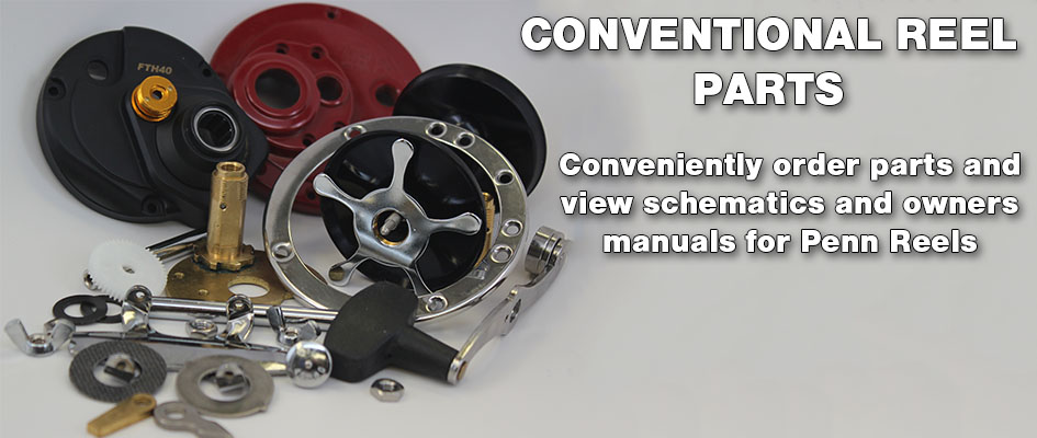 Buy Parts for Penn Conventional Reels