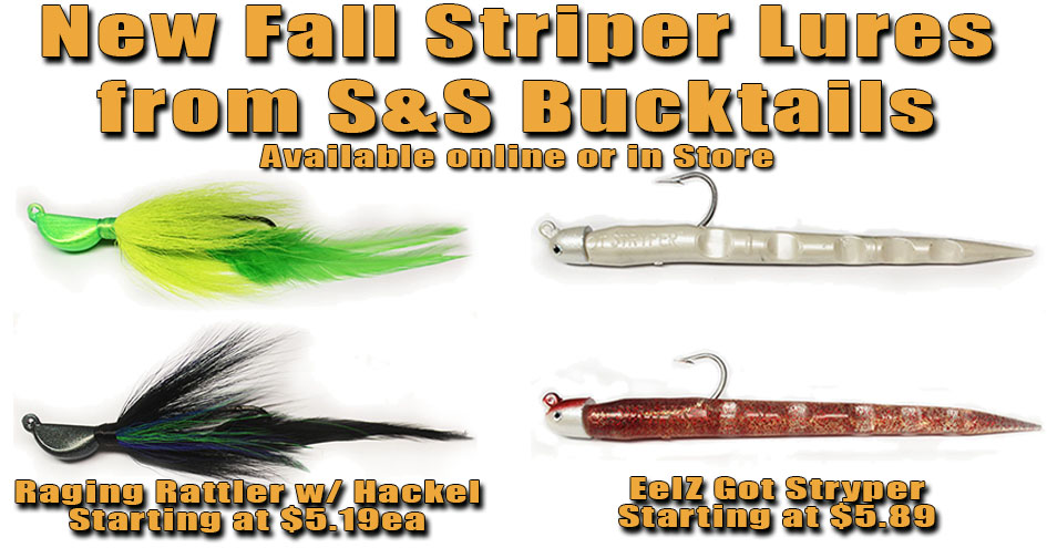 New for Fall 2015 S and S Bucktail Products