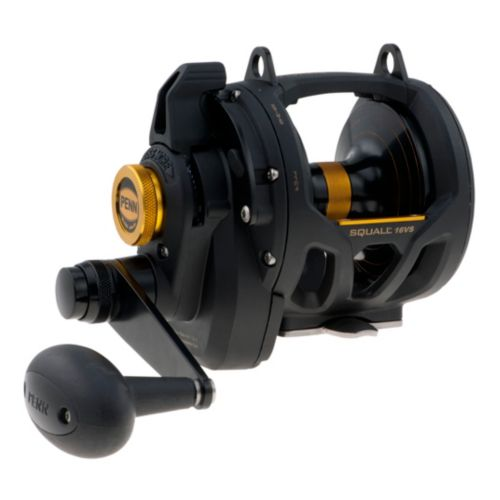 Penn SQL16VS Squall Lever Drag 2 Speed Reel