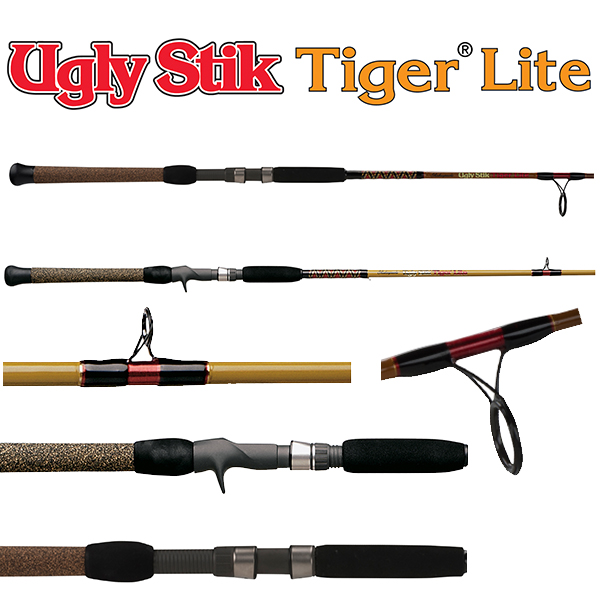Bwsl220070 7 39 0 14 40lb 1pc spinning rod for Ugly stick fishing poles